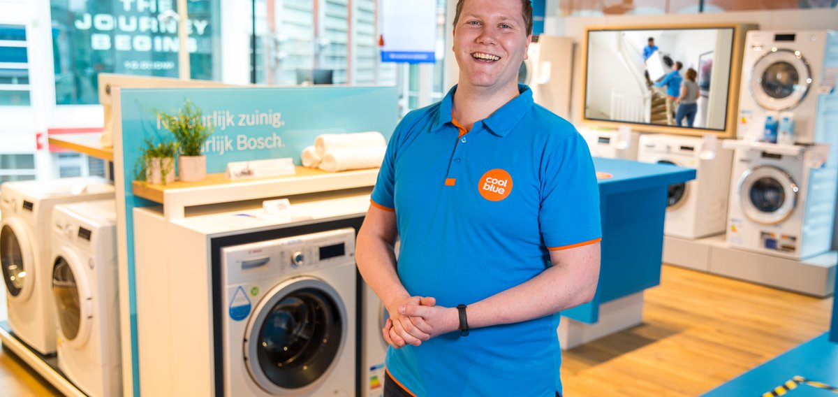Floormanager Coolblue-winkel